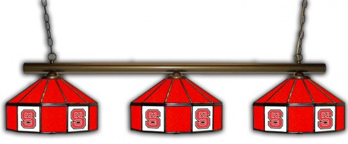 North Carolina State Wolfpack 3 Shade Pool Table Light