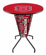 North Carolina State Wolfpack Indoor Lighted Pub Table
