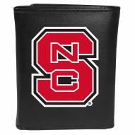 North Carolina State Wolfpack Large Logo Leather Tri-fold Wallet