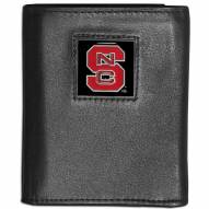 North Carolina State Wolfpack Leather Tri-fold Wallet