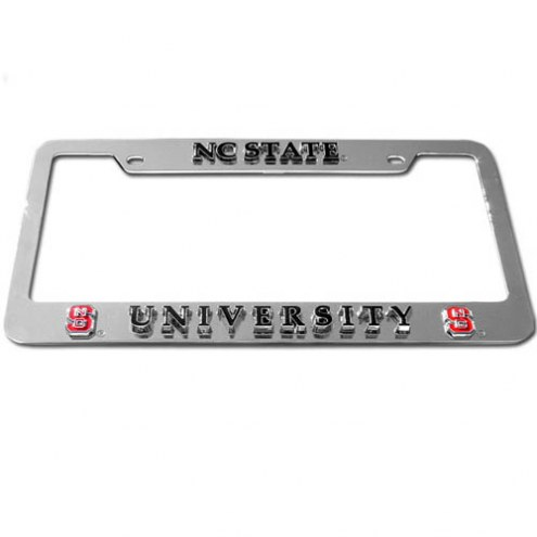 North Carolina State Wolfpack License Plate Frame
