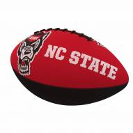 North Carolina State Wolfpack Logo Junior Rubber Football
