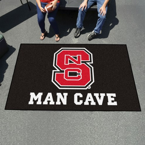 North Carolina State Wolfpack Man Cave Ulti-Mat Rug