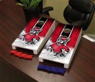 North Carolina State Wolfpack Mini Cornhole Set