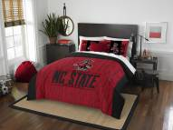 North Carolina State Wolfpack Modern Take Full/Queen Comforter Set