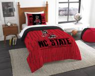 North Carolina State Wolfpack Modern Take Twin Comforter Set