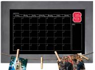 North Carolina State Wolfpack Monthly Chalkboard with Frame