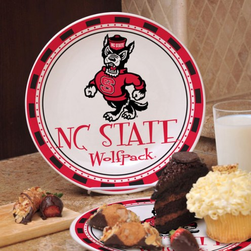 North Carolina State Wolfpack NCAA Ceramic Plate