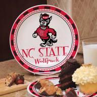 North Carolina State Wolfpack NCAA Ceramic Plate