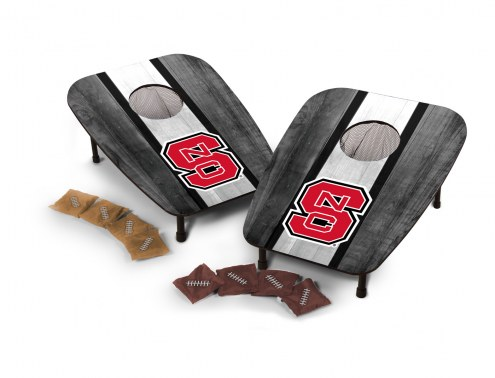 North Carolina State Wolfpack One Hole Bag Toss Game