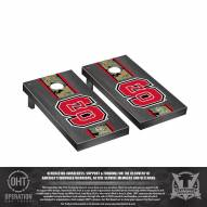 North Carolina State Wolfpack Operation Hat Trick Onyx Stained Cornhole Game Set