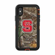 North Carolina State Wolfpack OtterBox iPhone X/Xs Defender Realtree Camo Case