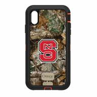 North Carolina State Wolfpack OtterBox iPhone XS Max Defender Realtree Camo Case