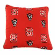 North Carolina State Wolfpack Outdoor Decorative Pillow