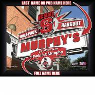 North Carolina State Wolfpack 11 x 14 Personalized Framed Sports Pub Print