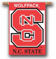 """North Carolina State Wolfpack Premium 28"""" x 40"""" Two-Sided Banner"""