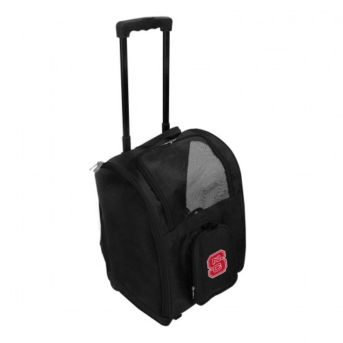 North Carolina State Wolfpack Premium Pet Carrier with Wheels