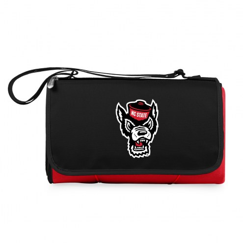 North Carolina State Wolfpack Red Blanket Tote