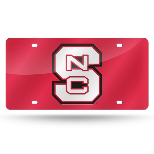 North Carolina State Wolfpack Laser Cut License Plate