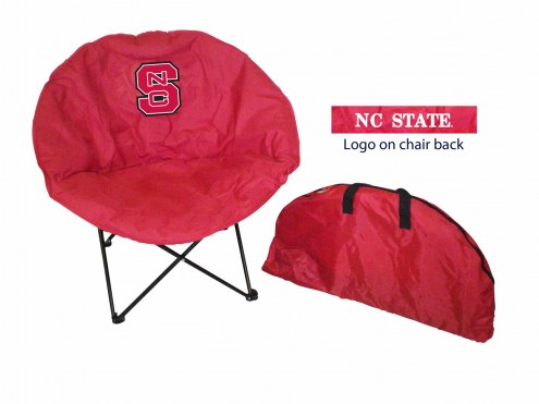 North Carolina State Wolfpack Rivalry Round Chair
