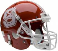 North Carolina State Wolfpack Scarlet Schutt XP Collectible Full Size Football Helmet