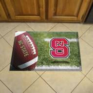 North Carolina State Wolfpack Scraper Door Mat