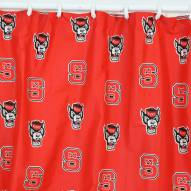 North Carolina State Wolfpack Shower Curtain