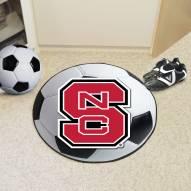 North Carolina State Wolfpack Soccer Ball Mat