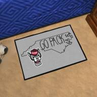 North Carolina State Wolfpack Southern Style Starter Rug