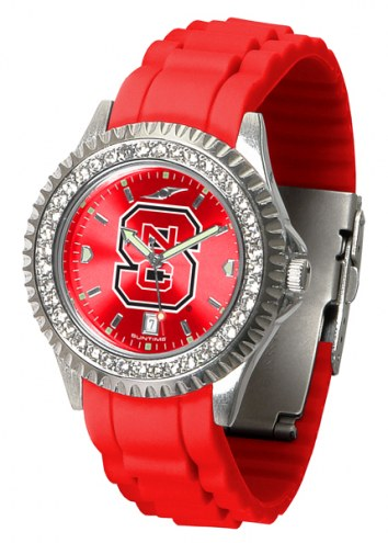 North Carolina State Wolfpack Sparkle Women's Watch