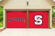 North Carolina State Wolfpack Split Garage Door Banner