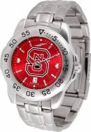 North Carolina State Wolfpack Sport Steel AnoChrome Men's Watch