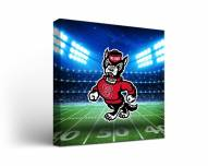 North Carolina State Wolfpack Stadium Canvas Wall Art