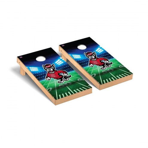 North Carolina State Wolfpack Stadium Cornhole Game Set