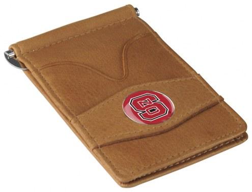 North Carolina State Wolfpack Tan Player's Wallet