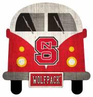 North Carolina State Wolfpack Team Bus Sign