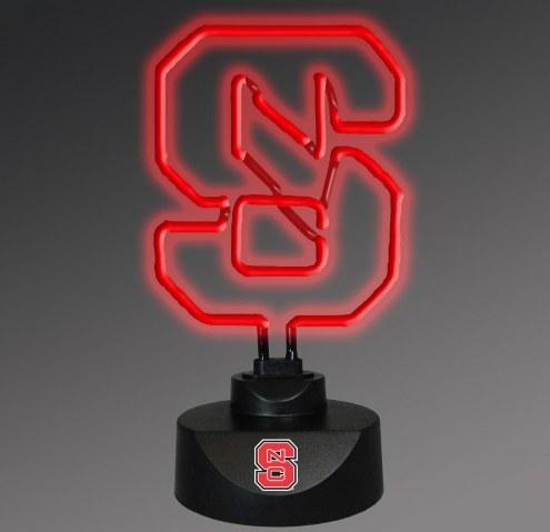North Carolina State Wolfpack Team Logo Neon Lamp