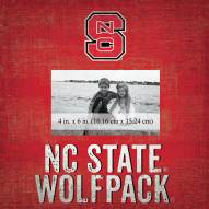 """North Carolina State Wolfpack Team Name 10"""" x 10"""" Picture Frame"""