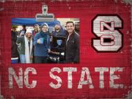 North Carolina State Wolfpack Team Name Clip Frame