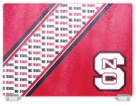 North Carolina State Wolfpack Tempered Glass Cutting Board
