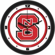 North Carolina State Wolfpack Traditional Wall Clock
