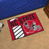 North Carolina State Wolfpack Uniform Inspired Starter Rug