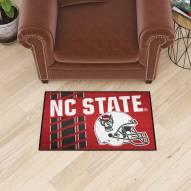 North Carolina State Wolfpack Uniform Inspired Starter Rug