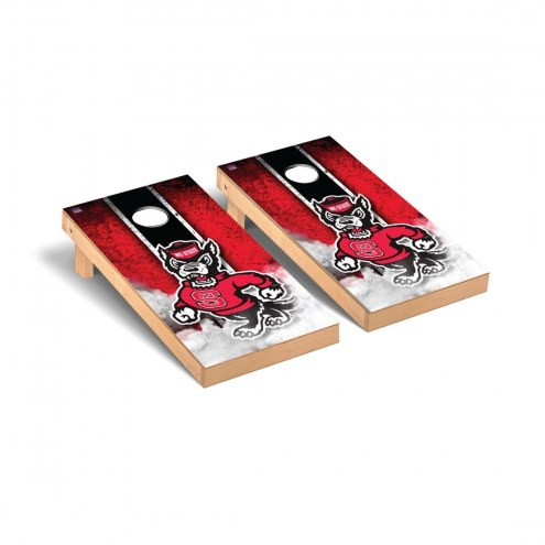 North Carolina State Wolfpack Vintage Cornhole Game Set