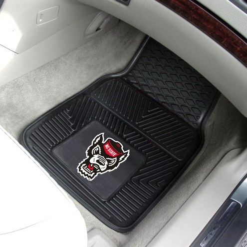 North Carolina State Wolfpack Vinyl 2-Piece Car Floor Mats