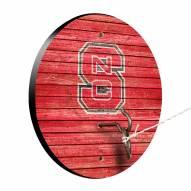 North Carolina State Wolfpack Weathered Design Hook & Ring Game