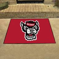 North Carolina State Wolfpack Wolf Head All-Star Mat