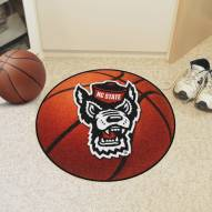 North Carolina State Wolfpack Wolf Head Basketball Mat