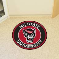 North Carolina State Wolfpack Wolf Head Rounded Mat