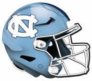 """North Carolina Tar Heels 12"""" Helmet Sign"""